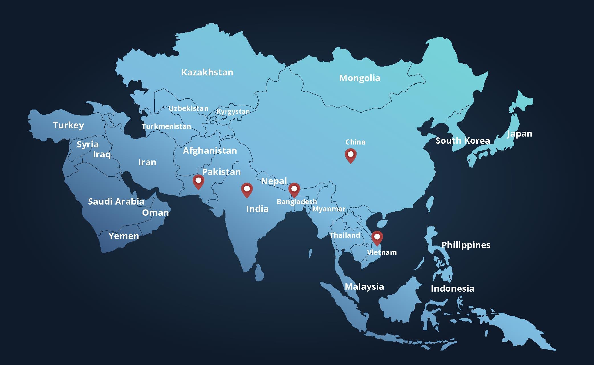 RSJ Coverage Map